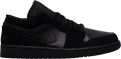 Jordan 1 Low Triple Black