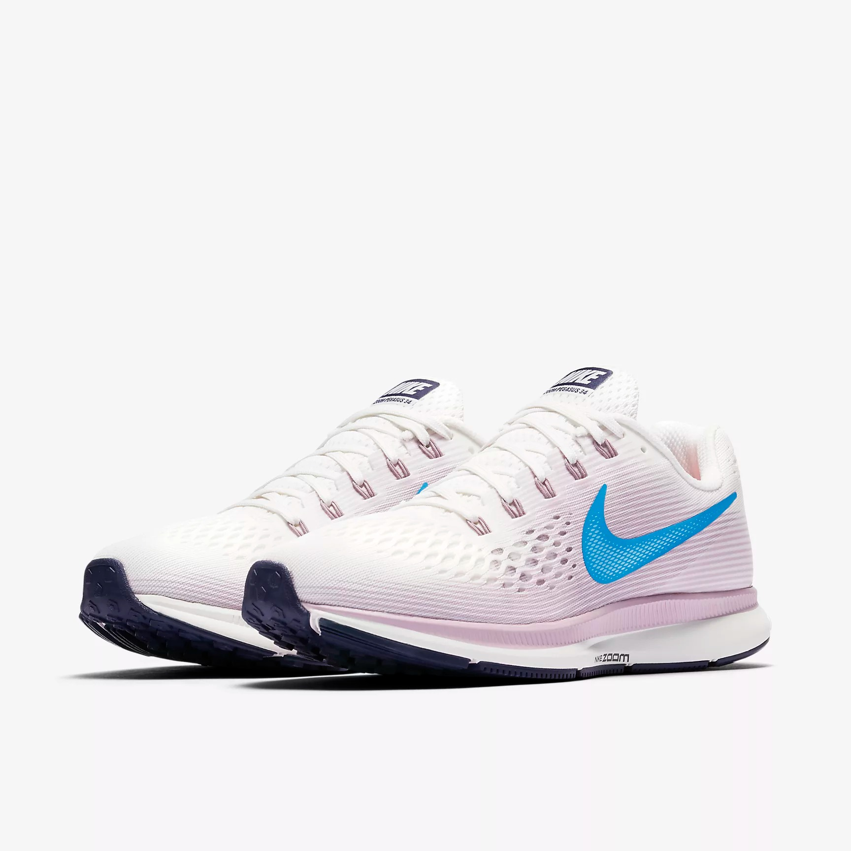 online retailer cc550 0636f Nike Wmns Air Zoom Pegasus 34 Running Shoes Last Size 42 ...