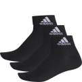 adidas Performance Thin Ankle Socks (3 Pack)