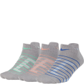 Nike Dri-FIT Cushioned Low Training kojinės (3 poros)