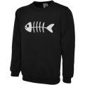 Fishbone Crewneck