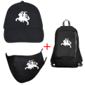Face Mask Vytis + Cap Vytis + Small Backpack Vytis