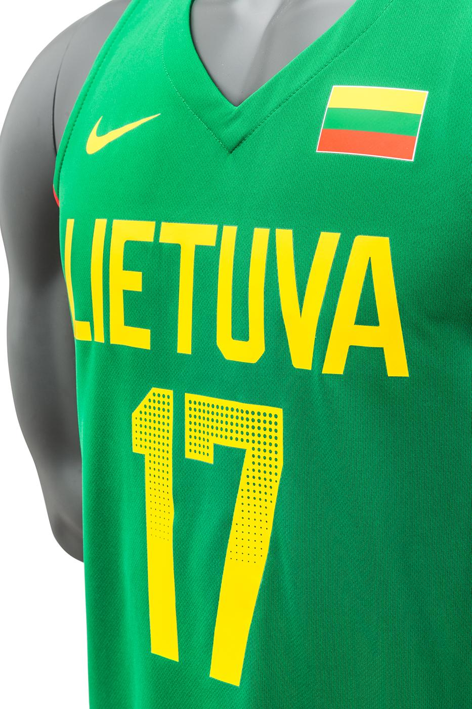 Lithuania Nike Elite Replica Jersey Jonas Valanciunas - Lithuania ...