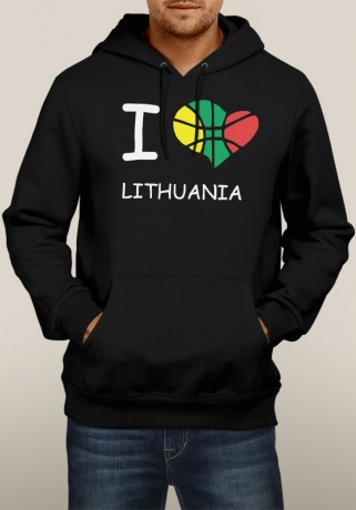 Džemperis I Love Lithuania