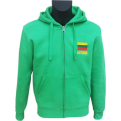 Lithuania Hoody With Zipper For Men