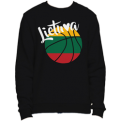 Lithuania Basketball Colored Ball Sweatshirt