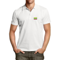 White polo shirts with Vytis