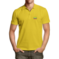 Yellow polo shirts with Vytis