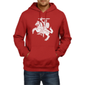 Red Hoodie New Vytis (Size M and L)