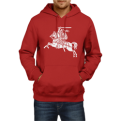 Hoodie Lithuania with symbol Vytis (Size L)
