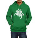 Green Hoodie vith Vytis