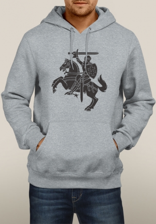 Grey Hoody New Vytis