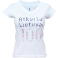Re-Born Lithuania 100 Official WMNS Tee