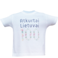 Re-Born Lithuania 100 Official Kids Tee