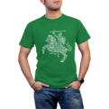 Green Tee Vytis From Words