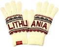 White Winter Gloves Lithuania