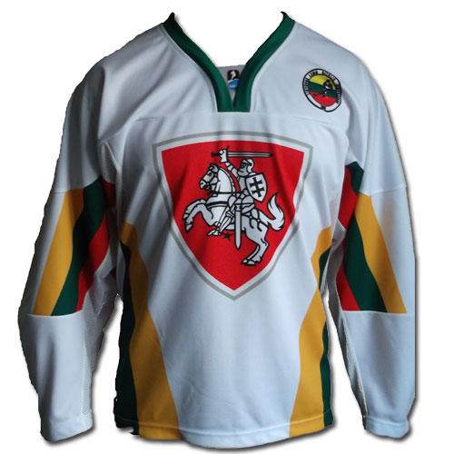Lithuania ice hockey jersey RETRO - Lithuania Gifts Shop Lithuania Shirts -  Superfanas.lt 0b90f518a22
