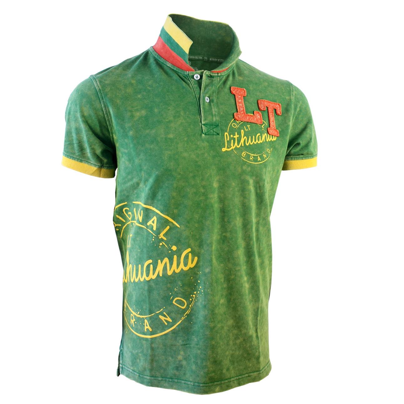 Lithuania Style Polo Shirt Lithuania Gifts Lithuania Shirts