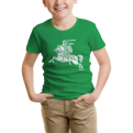 Green Youth Tee Old Vytis