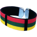Bracelet Lithuania Flag Colors