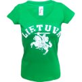 Lithuania Vytis Women Tee