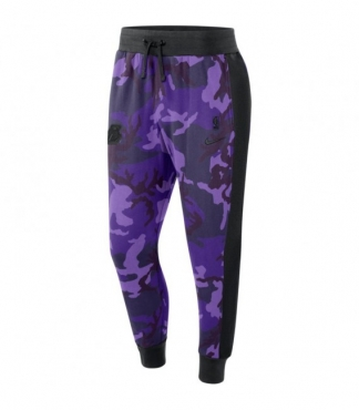 Nike NBA Los Angeles Lakers Camo kelnės (Dydis L ir XL)