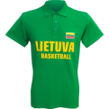 Lietuva Basketball Polo Shirt