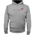 Hoodie Vytis Heartbeat