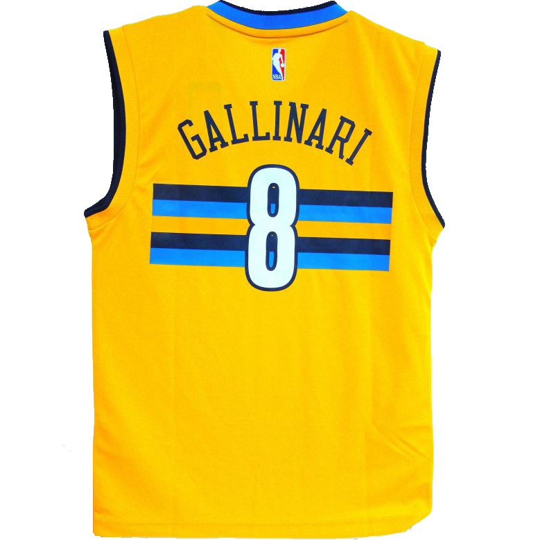 ... Swingman White NBA Jersey Price20 adidas NBA Denver Nuggets Danilo  Gallinari Replica jersey ... ed2865b3e