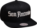 Mitchell & Ness NBA San Antonio Spurs Gotham City Snapback Kepurė