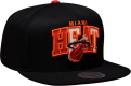 Mitchell & Ness NBA Miami Heat Reflective Tri Pop Arch Snapback Kepurė