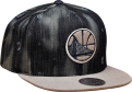 Mitchell & Ness NBA Golden State Warriors Torn Denim Snapback Cap