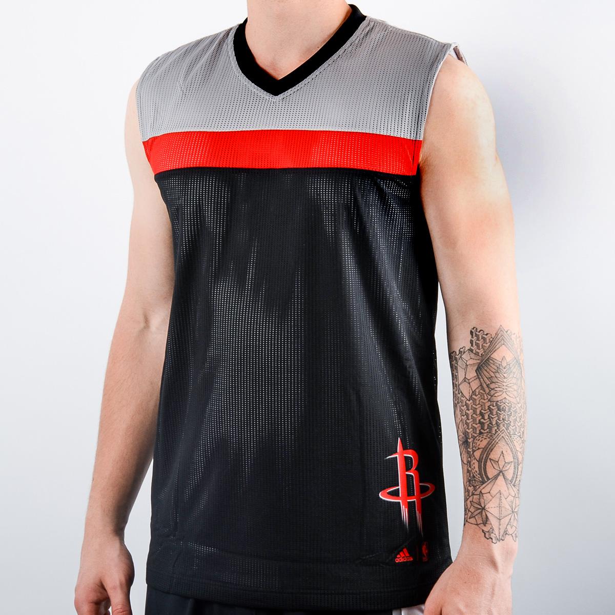 big sale 2309a d61d4 adidas NBA Houston Rockets Winter Hoops reversible jersey ...