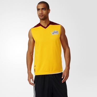 ... adidas NBA Cleveland Cavaliers Summer Run Reversible Sleeveless Tee ... c4aca6148