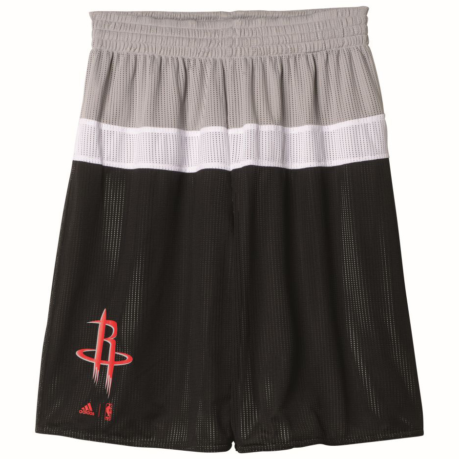 separation shoes 1c540 2ab6f adidas NBA Houston Rockets Winter Hoops Reversible Shorts ...