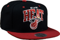 Mitchell & Ness NBA Miami Heat Team Arch Snapback Kepurė
