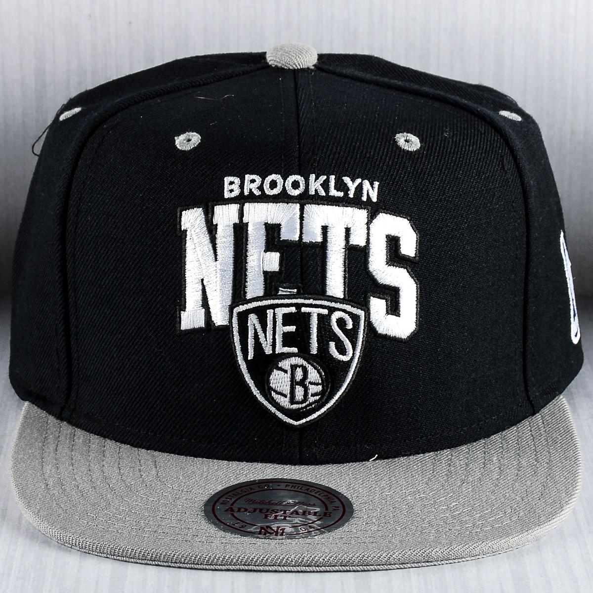 Mitchell   Ness NBA Brooklyn Nets Team Arch Snapback Cap - NBA Shop ... a5e4b07b68d4