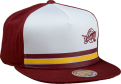 Mitchell & Ness NBA Cleveland Cavaliers Pacific Stripe Pinch Panel Snapback Kepurė