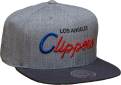 Mitchell & Ness NBA Los Angeles Clippers TRI POP SPECIAL SCRIPT Snapback Kepurė