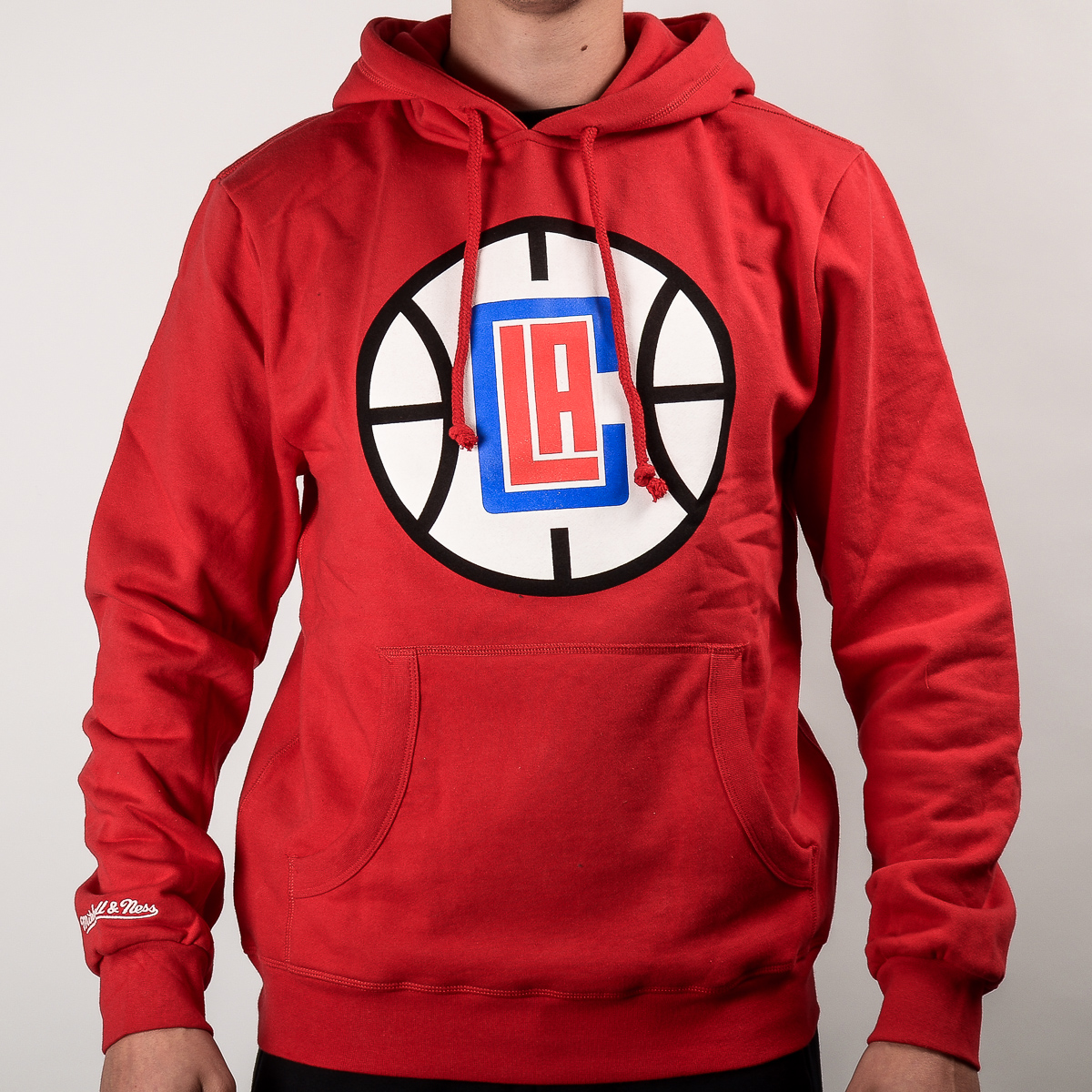 low priced bacd8 d6128 Mitchell & Ness NBA Los Angeles Clippers Team Logo Hoody ...