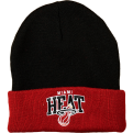 Mitchell & Ness NBA Miami Heat Arched Cuff Žieminė Kepurė