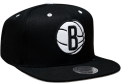 Mitchell & Ness NBA Brooklyn Nets Solid Velour Logo Snapback Kepurė