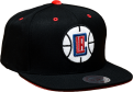 Mitchell & Ness NBA Los Angeles Clippers Solid Velour Logo Snapback kepurė