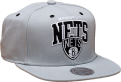 Mitchell & Ness NBA Brooklyn Nets Black And White Arch Snapback Kepurė