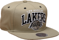 Mitchell & Ness NBA Los Angeles Lakers Black And White Arch Snapback Kepurė