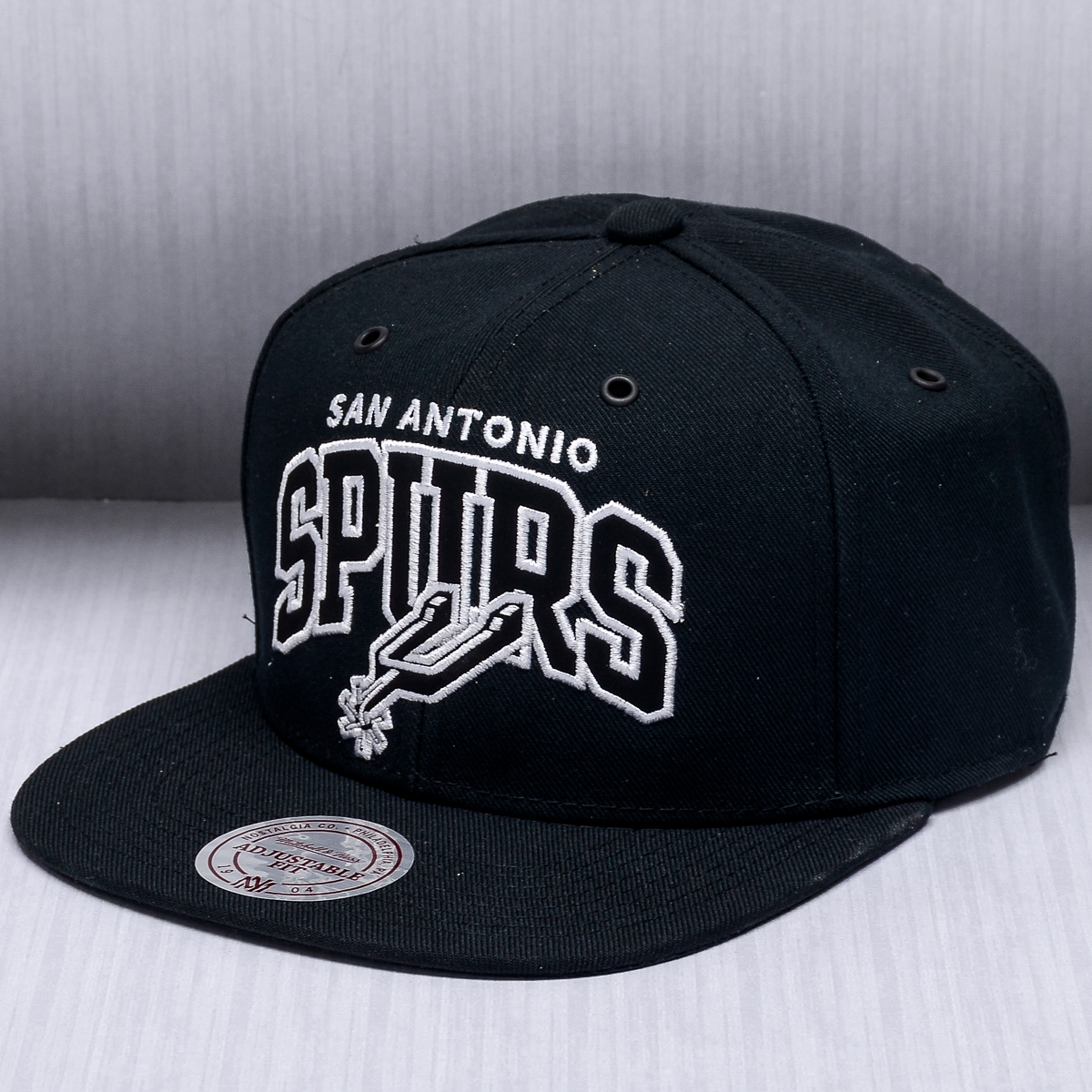 Mitchell Amp Ness Nba San Antonio Spurs Black And White Arch