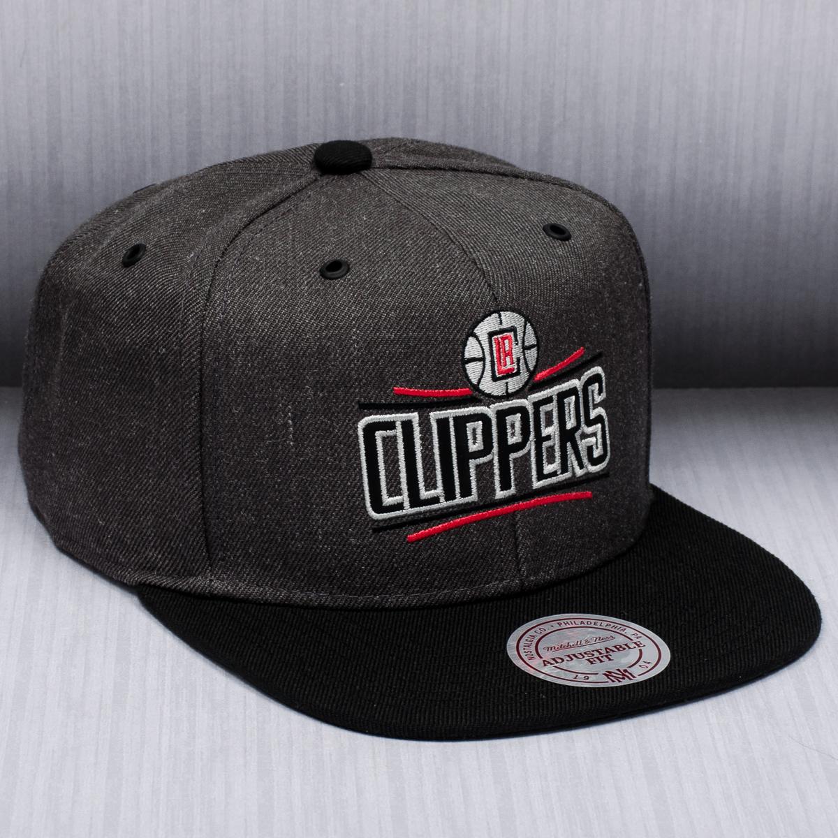 pretty nice 70b96 795be Mitchell & Ness NBA Los Angeles Clippers G3 Logo Snapback ...