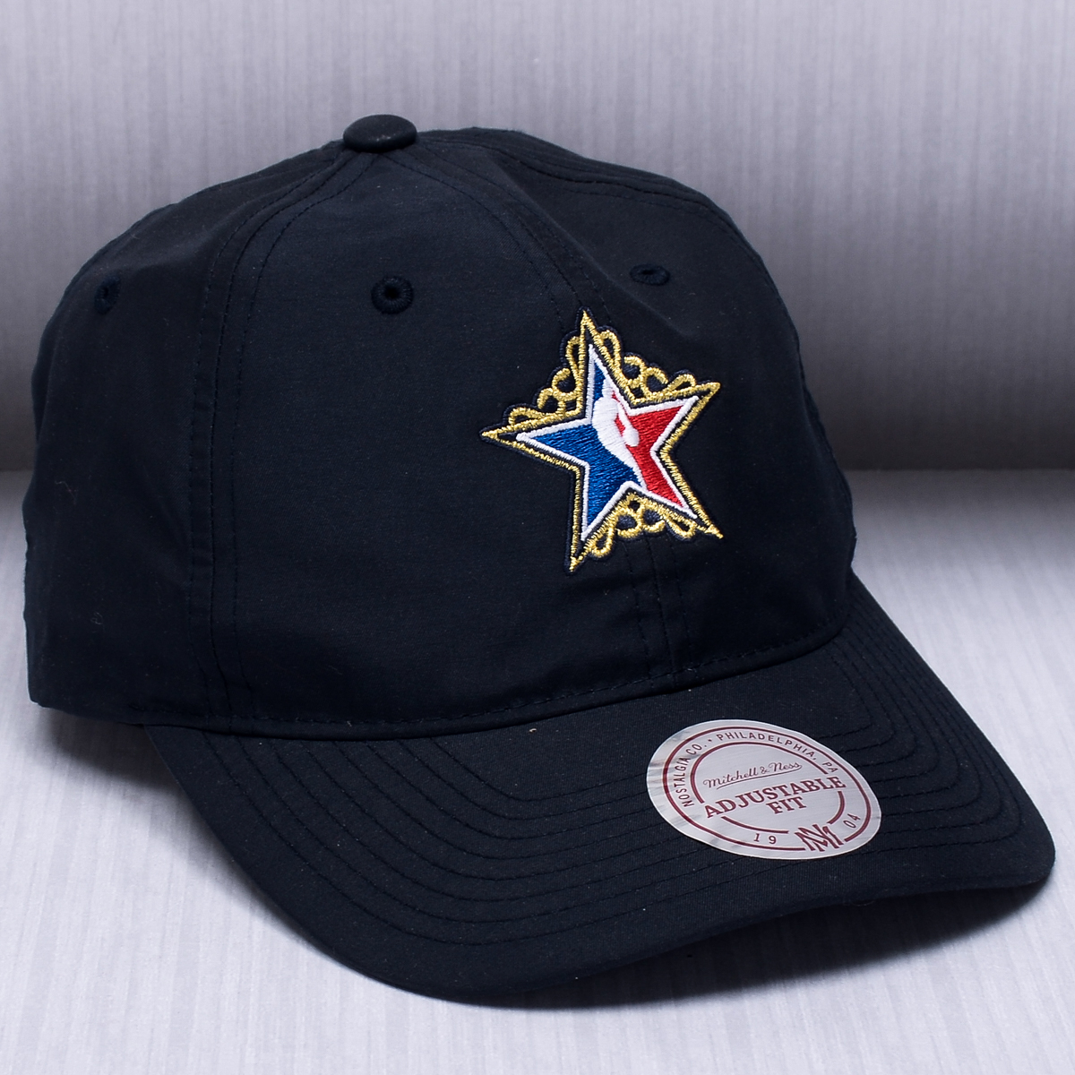 abaaf420a7d Mitchell   Ness NBA All-Star Peached Oxford Dad Cap - NBA Shop Others NBA  Clubs Merchandise - Superfanas.lt
