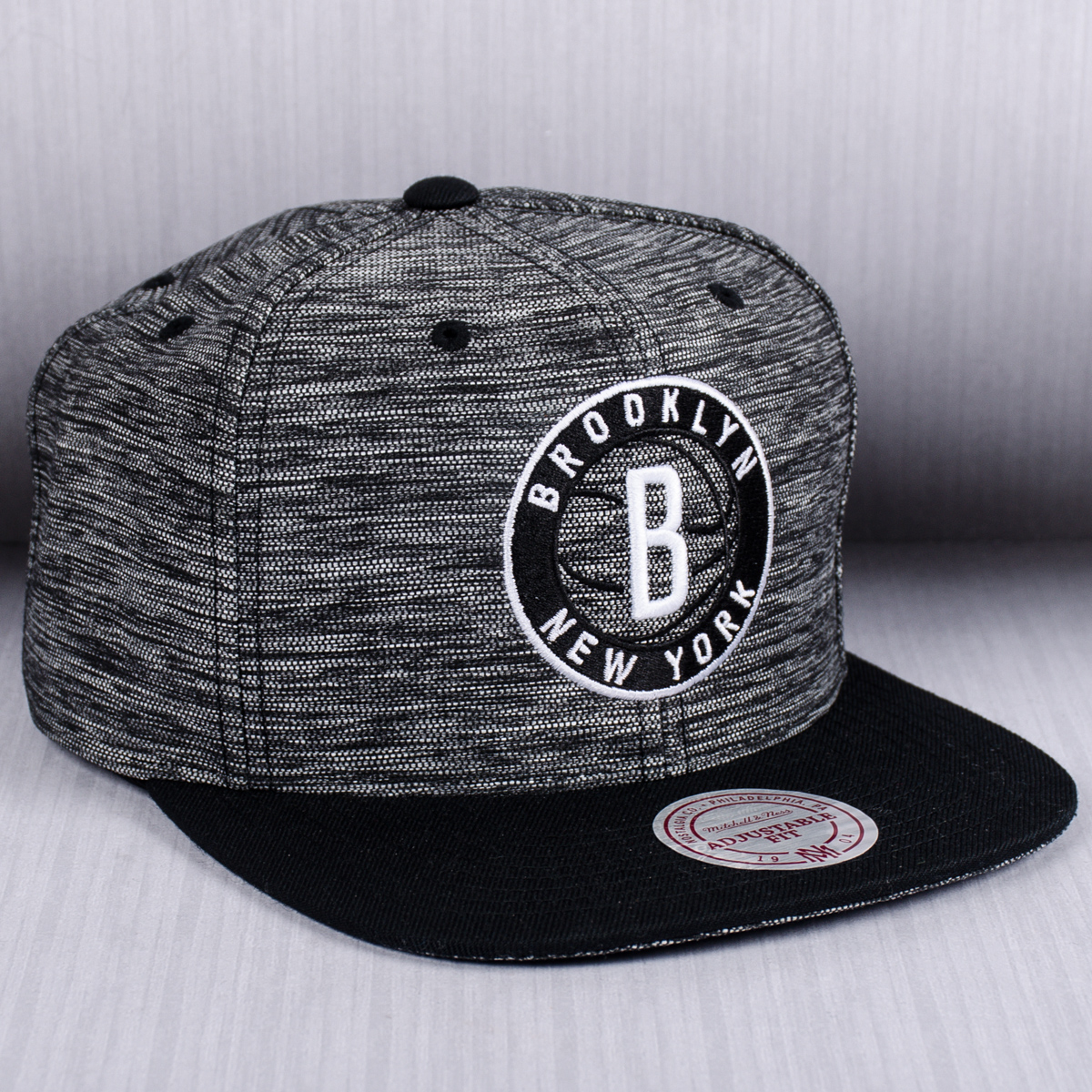 d848cca6c55 ... inexpensive mitchell ness nba brooklyn nets prime knit snapback cap  1482e 25bcd ...
