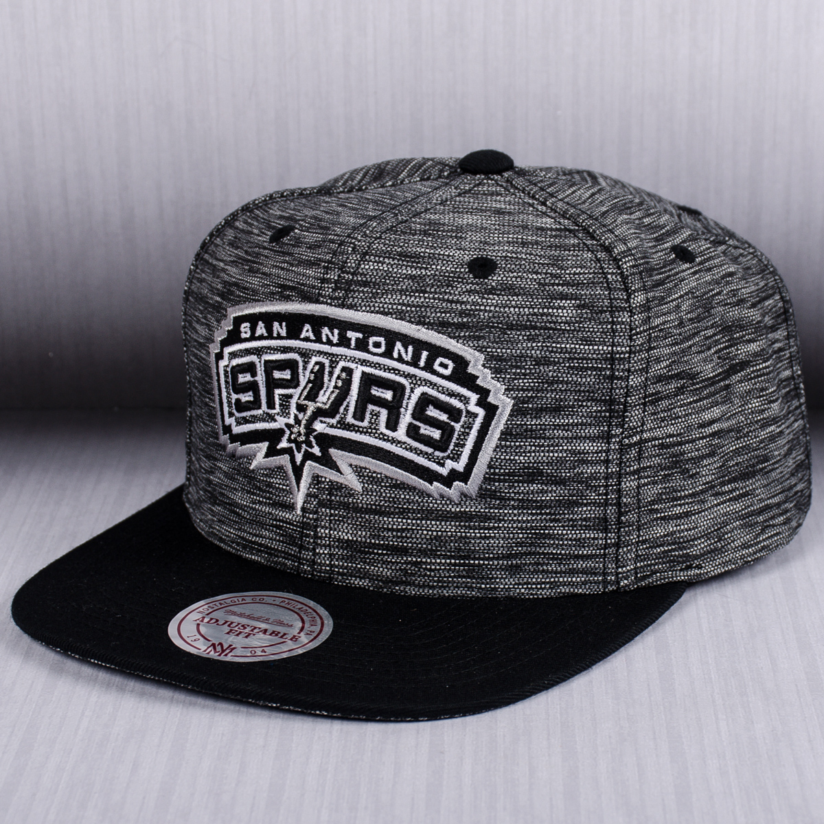 Mitchell Amp Ness Nba San Antonio Spurs Prime Knit Snapback